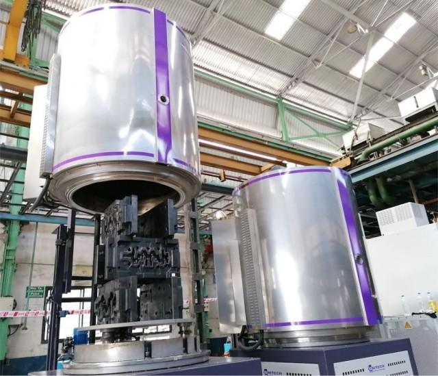 ION-100HWI - двукамерна система, пусната в Bharat Forge за йонно азотиране на матрици